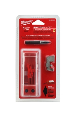"Milwaukee Tool 48-25-5220 1-3/8"" Switchblade 3 Blade Replacement Kit"