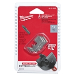 "Milwaukee MIL-48-25-5525 Replacement Switchblades 1-1/2"" 3 Blades Only"
