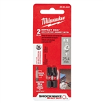 48-32-4441 - Milwaukee Shockwave Insert Bit Ecx #1- 2Pk - 48324441