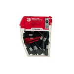 "Milwaukee 48-32-4604 #2 Phillips Shockwave™ 1"" Insert Bit Contractor Pack"