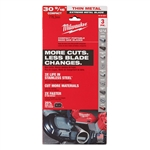 Milwaukee 48-39-0631 30-9/16 in. 12/14 TPI Compact Extreme Thin Metal Band Saw Blade 3PK
