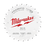 Milwaukee 48-40-0620 Circular Saw Framing Blade 6-1/2 in. 24T