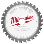 "Milwaukee 48-40-4070 5-3/8"" 30T Ferrous Metal Blade"