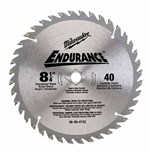 Milwaukee 48-40-4152 Circular Saw Blade 8-1/4 40
