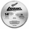 "Milwaukee 48-40-4505 Circular Saw Blade Dry Cut 14"" 72T"