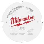 Milwaukee 48-40-7000 7-1/4 in. PCD/Fiber Cement Circular Saw Blade