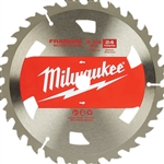Milwaukee 48-41-0710 Circular Saw Framing Blade 7-1/4 in. 24T 10 Pack