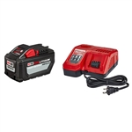 Milwaukee 48-59-1200 M18 REDLITHIUM HIGH OUTPUT HD12.0 Battery Pack with Charger