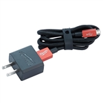 Milwaukee 3ft Micro-USB Cable and 2.1A Wall Charger