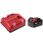 Milwaukee 48-59-1840 M18™ REDLITHIUM™ XC4.0 System Starter Kit