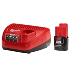 Milwaukee 48-59-2420 M12 2.0 Starter Kit