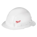 Milwaukee 48-73-1031 Full Brim Hard Hat, Unvented, Small Logo