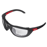 Milwaukee 48-73-2041 Clear Performance Safety Glasses with Gaskets, Polybag Packaging