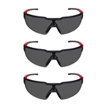 Milwaukee 48-73-2051 Tinted Safety Glasses 3 Pack