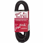 Milwaukee 48-76-4008 Cord 8' Quik-Lok