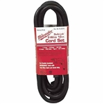 Milwaukee 48-76-5010 CORD 10' 16-2S QUIK-LOK Cord Set