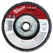 Milwaukee 48-80-8012 Flap Disc 4-1/2 X 5/8-11 80 Grit Pack Of 5