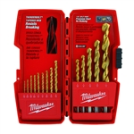 Milwaukee 48-89-0011 14 Piece Milwaukee Thunderbolt Titanium Coated Drill Bits