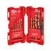 Milwaukee 48-89-2331 15 Piece Cobalt RED HELIX KIT