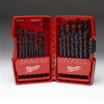 Milwaukee 29pc THUNDERBOLT BLACK OXIDE SET