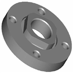 Milwaukee 49-05-0110 Flange Nut