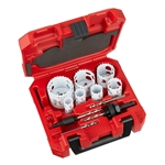 Milwaukee 49-22-3090 12 pc HOLE DOZER With Carbide Teeth Hole Saw Kit