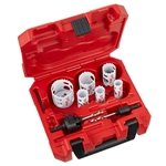 Milwaukee 49-22-4076 8pc HOLE DOZER Welder's Hole Saw Kit