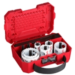 10-pc Electricians Ice Hardened™ Hole Saw Kit