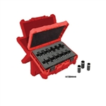 Milwaukee 49-66-4301 12 pc. 1/4 Inch Metric Deep Socket Set
