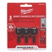 "Milwaukee 49-66-4517 1/2"" SHOCKWAVE Insert Nutdriver Set (3 Pk)"