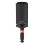 Milwaukee 49-66-5124 Shockwave Lineman's 12PT 15/16  in. and 1 1/8 in.  2-in-1 Socket