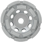 "Milwaukee 5"" Diamond Cup Wheel Double Rim 49-93-7760"