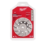 "Milwaukee 5"" Diamond Cup Wheel Seg-Turbo 49-93-7790"