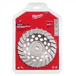 "Milwaukee 7"" Diamond Cup Wheel Seg. Turbo 49-93-7795"
