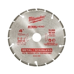 "Milwaukee 49-93-7800 4"" STEELHEAD Diamond Cut-Off"