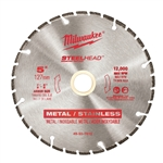"Milwaukee 49-93-7810 5"" STEELHEAD Diamond Cut-Off"