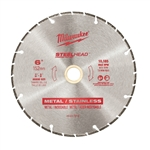 "Milwaukee 49-93-7815 6"" STEELHEAD Diamond Cut-Off"