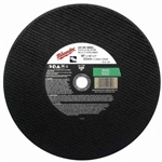 Milwaukee 49-94-1485 Cutting Wheel 14 X 1/8 X 1  Pack Of 10