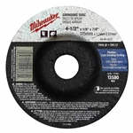 Milwaukee Grinding Wheel 4-1/2 in. x 1/4 in. x 7/8 in. (Type 27) 49-94-4520