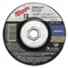 Milwaukee 49-94-4525 Grinding Disc 4-1/2 X 1/8 X 5/8-11 Pack Of 5