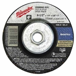 Milwaukee 49-94-4585 Grinding Disc 4-1/2 X 1/4 X 5/8-11 Pack Of 5