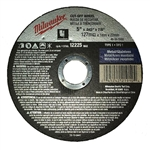 Milwaukee 49-94-5000 5 x .045 x 7/8 in. Cut-Off Wheel (Type 1) 25 Pack