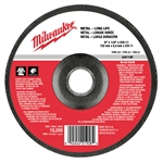 Milwaukee 49-94-6330 Grinding Disc 6 X 1/4 X 5/8-11 Pack Of 5