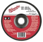 Milwaukee 49-94-6340 Grinding Disc 6 X 1/4 X 7/8 Pack Of 10