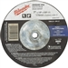 Milwaukee 49-94-7015 7 x 1/8 x 5/8-11 Grinding Wheel 5 Pack