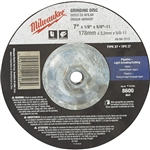 Milwaukee 49-94-7015 Grinding Disc 7 X 1/8 X 5/8-11 Pack Of 5