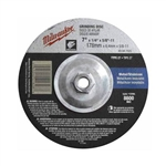 Milwaukee 49-94-7025 7 x 1/4 x 5/8-11 Grinding Wheel 5 Pack