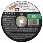 Milwaukee 49-94-7055 7 x 1/8 x 5/8 in. Cut-Off Wheel 25 Pack