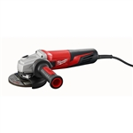 "Milwaukee 6117-33S 5"" Small Grinder with Shroud Slide, Lock-On"