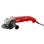 Milwaukee 6121-31A 11 Amp 5-Inch Angle Grinder Trigger Grip, AC/DC